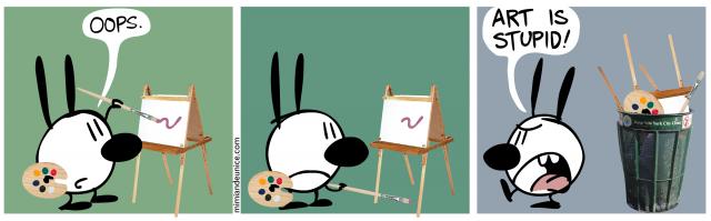 art is stupid