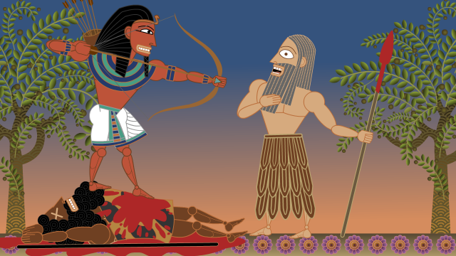 This Land Is Mine still 1: Egyptian vs. Canaanite