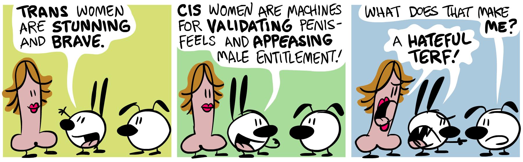 Trans vs  Cis « Mimi and Eunice